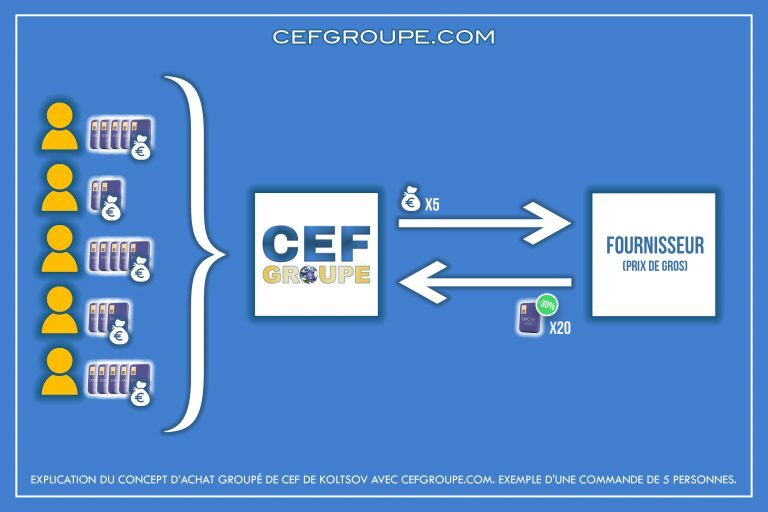 Explication du concept d'achat groupé de CEF de Koltsov avec CEFgroupe.com